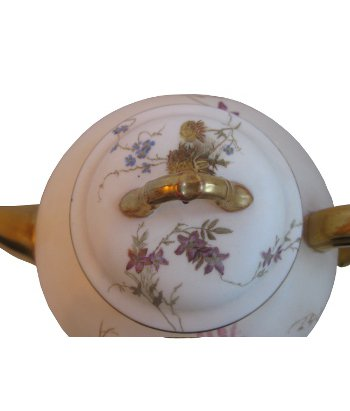 Instinct Antiques Royal Worcester Hand Painted Floral