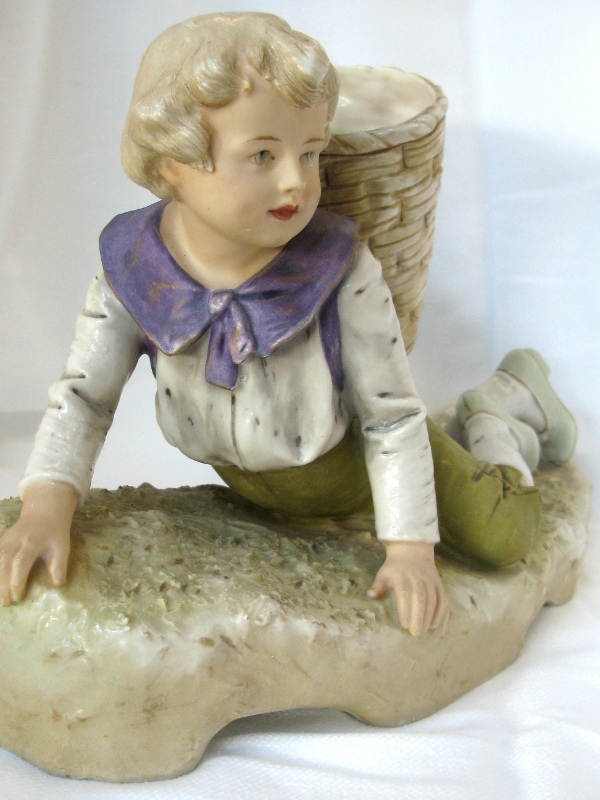 Instinct Antiques A Lovely Royal Dux Porcelain Figurine